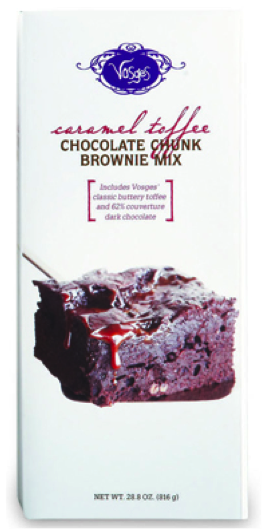Vosges Caramel Toffee Chocolate Chunk Brownie Mix