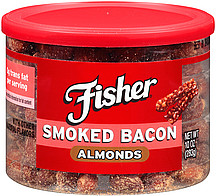 Fisher Smoked Bacon Almonds